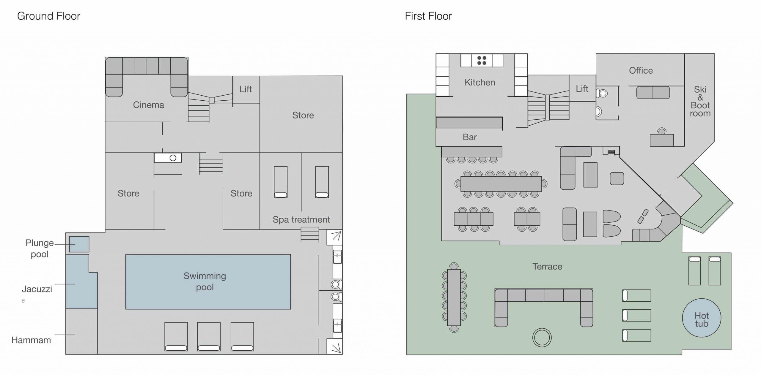View the floorplan of No. 14 Verbier